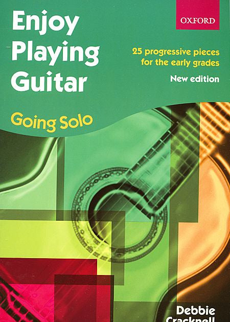 Enjoy Playing Guitar: Going Solo - Cracknell, Debbie -