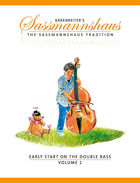 Early Start on the Double Bass, Volume 1 - Close, J. Peter / Sassmannshaus, Holger