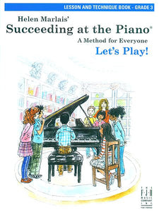 Succeeding at the Piano , Lesson and Technique Book - Grade 3 (without CD) - various - Piano Book