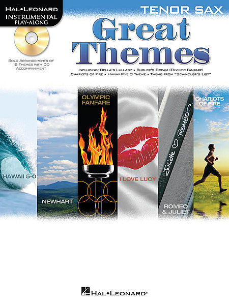 Great Themes Instrumental Play-Along for Tenor Sax Book/CD Pack Instrumental Folio Tenor Sax