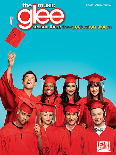 Glee: The Music - Season Three, The Graduation Album Piano/Vocal/Guitar Songbook P/V/G