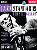 Berklee Jazz Standards for Solo Guitar by John Stein Berklee Guide Book/CD Pack