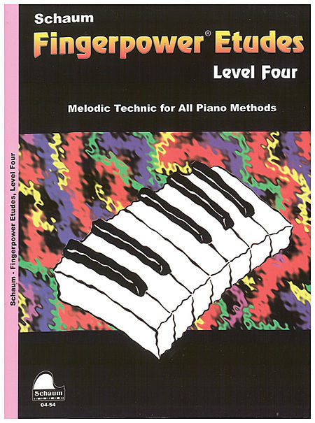 Schaum - Fingerpower Etudes, Level 4