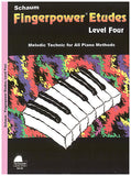 Schaum, Wesley - Fingerpower Etudes, Level 4 - Effective Technic for All Piano Methods - Piano Method Series*
