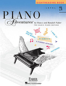 Level 2A - Sightreading Book Piano Adventures Faber Piano Adventures Sightreading Book