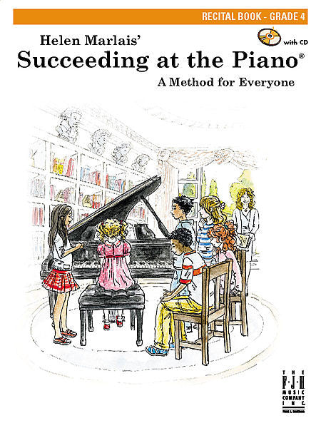Succeeding at the Piano , Recital Book - Grade 4 - various - Piano Book
