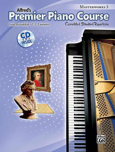 Premier Piano Course: Masterworks Book 3