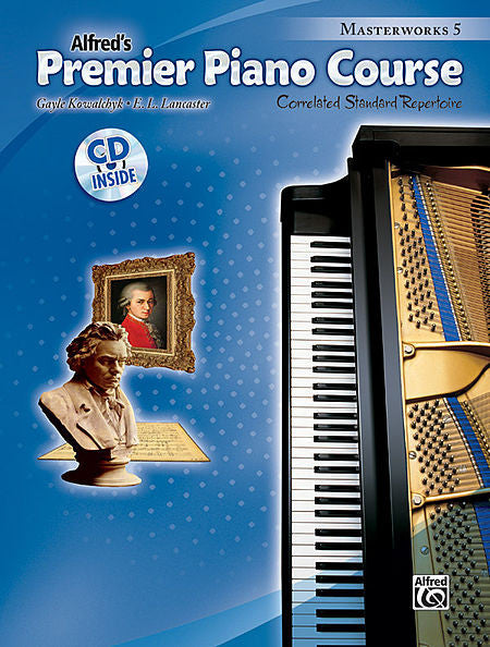Premier Piano Course: Masterworks Book 5