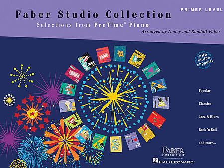 Faber Studio Collection Selections from PreTime Piano Primer Level Faber Piano Adventures