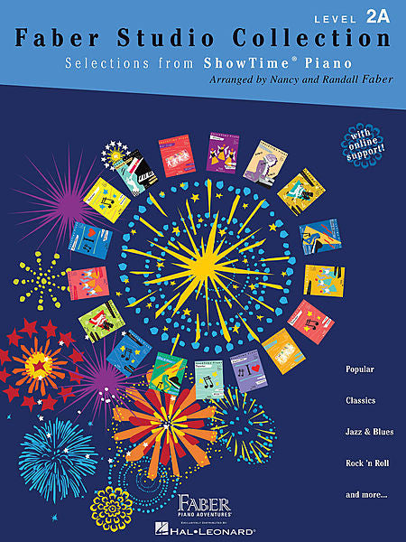 Faber Studio Collection Selections from ShowTime Piano Level 2A Faber Piano Adventures