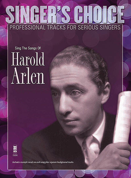 Sing the Songs of Harold Arlen Singer's Choice - Professional Tracks for Serious Singers - Music Minus One SCCD