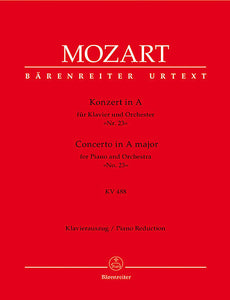 Concerto for Piano and Orchestra No. 23 A major KV 488 - Mozart, Wolfgang Amadeus