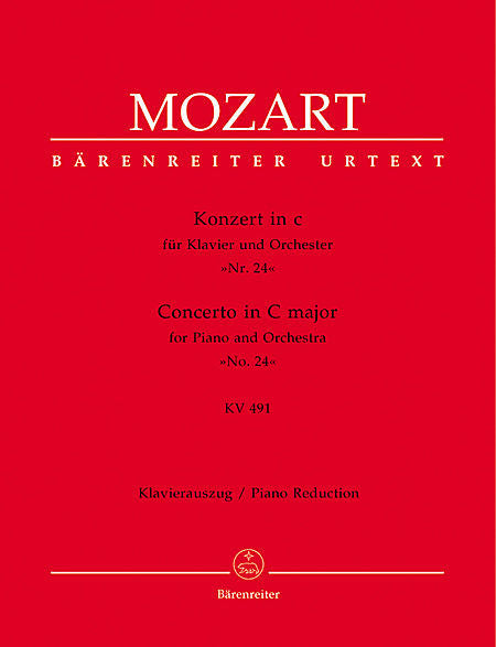Concerto for Piano and Orchestra No. 24 c minor KV 491 - Mozart, Wolfgang Amadeus