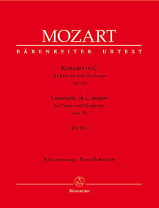 Concerto for Piano and Orchestra No. 25 C major KV 503 - Mozart, Wolfgang Amadeus