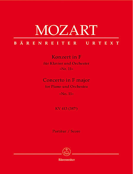 Concerto for Piano and Orchestra No. 11 F major KV 413(387a) - Mozart, Wolfgang Amadeus