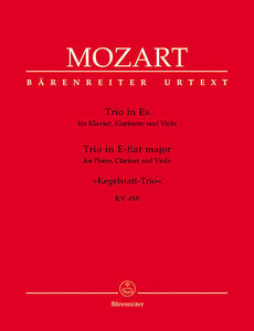 Trio for Piano, Clarinet and Viola E flat major KV 498 - Mozart, Wolfgang Amadeus