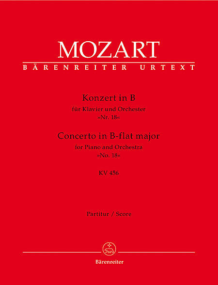 Concerto for Piano and Orchestra No. 18 B flat major KV 456 - Mozart, Wolfgang Amadeus