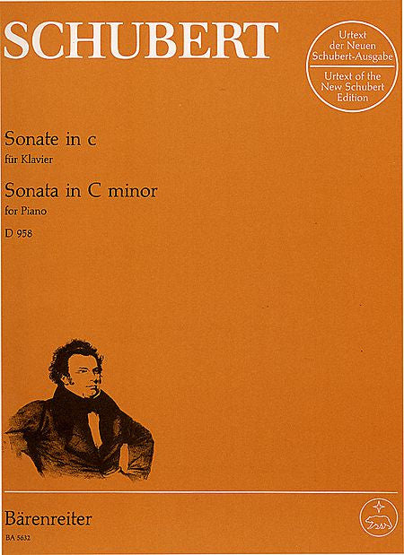 Klaviersonate c minor D 958 - Schubert, Franz