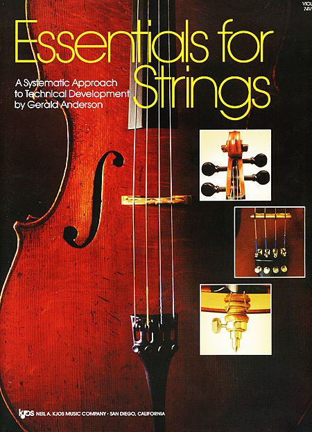 Essentials For Strings-Violin - Gerald Anderson