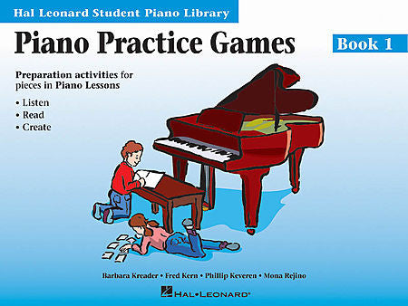 Piano Practice Games Book 1 Hal Leonard Student Piano Library Educational Piano Library