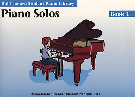 Piano Solos Book 1 Hal Leonard Student Piano Library Educational Piano Library Book Only