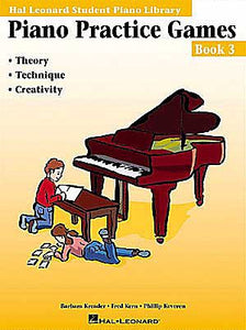 Piano Practice Games Book 3 Hal Leonard Student Piano Library Educational Piano Library