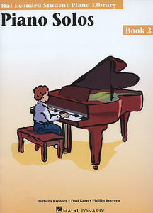 Piano Solos - Book 3 Hal Leonard Student Piano Library Educational Piano Library Book Only