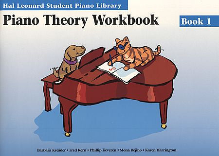 Piano Theory Workbook Book 1 Hal Leonard Student Piano Library Educational Piano Library