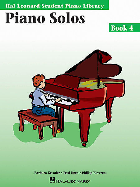 Piano Solos Book 4 Hal Leonard Student Piano Library Educational Piano Library Book Only