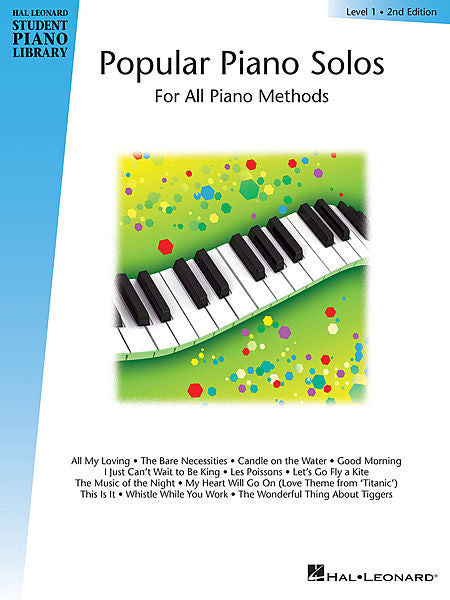 Popular Piano Solos - Level 1 Hal Leonard Student Piano Library Educational Piano Library Book Only