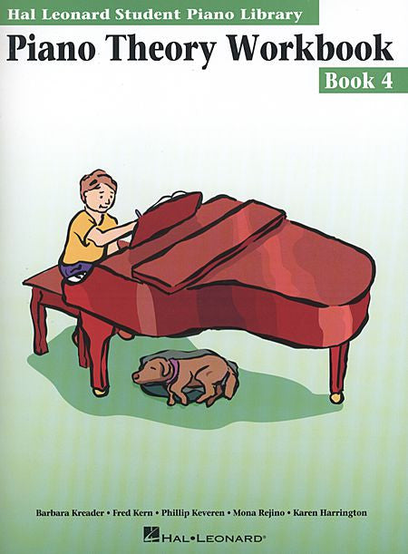 Piano Theory Workbook - Book 4 Hal Leonard Student Piano Library Educational Piano Library