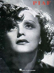 Edith Piaf Song Collection Piano/Vocal/Guitar Artist Songbook