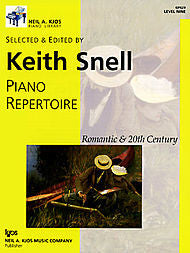 Nak Piano Lib Pa Repertoire: Romantic-20Th Cen Level 9 - Keith Snell