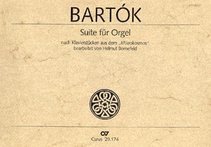 Bartok - Suite for Organ (after piano pieces from the ''Mikrokosmos) - Organ Solo