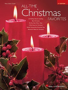 All-Time Christmas Favorites - 2nd Edition Piano/Vocal/Guitar Songbook P/V/G