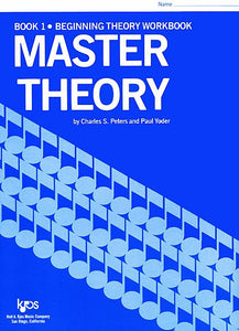 Master Theory, Book 1 - Charles Peters