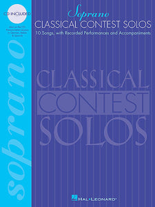 Classical Contest Solos - Soprano With companion CDs Vocal Collection Soprano