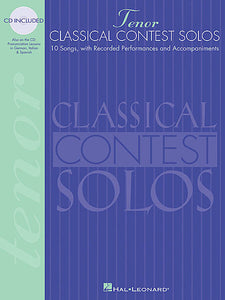 Classical Contest Solos - Tenor Vocal Collection Tenor