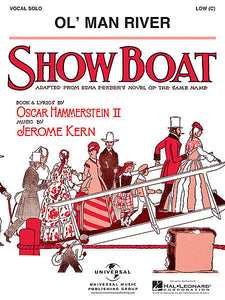 Ol' Man River (from ShowBoat) (Low - C edition) Vocal Low - C edition