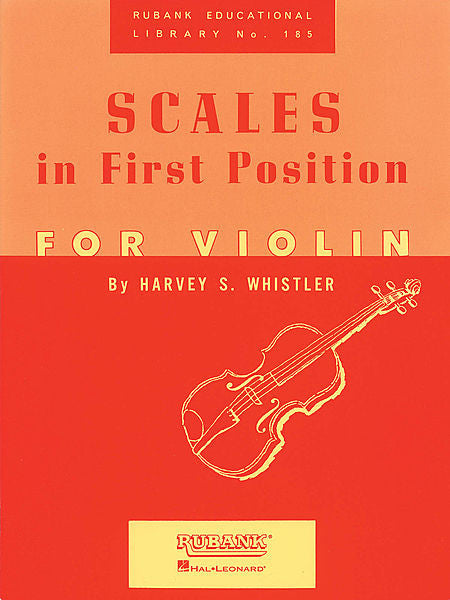 Scales in First Position for Violin by Harvey S. Whistler String Method
