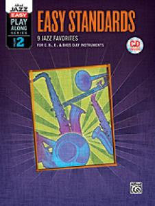 Alfred Jazz Easy Play-Along Series, Vol. 2: Easy Standards Bk/CD