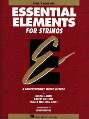 Essential Elements for Strings - Book 1 (Original Series) Viola Michael Allen, Robert Gillespie and Pamela Tellejohn Hayes Essential Elements Viola