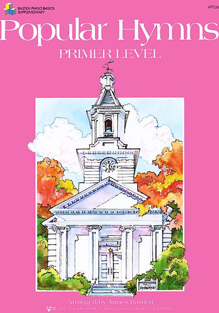 Popular Hymns, Primer Level - James Bastien