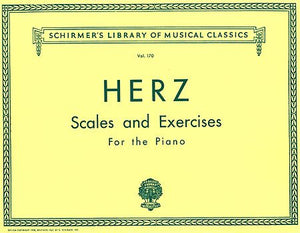 Herz, Henri - Scales and Exercises ed. Max Vogrich - Piano Method Scales*