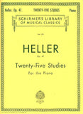 Heller, Stephen - Twenty-Five (25) Studies for Rhythm and Expression, Opus 47 - Piano Method Volume*