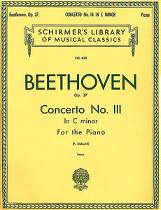 Beethoven - Concerto No. 3 in C Minor, Op. 37 (2-piano score) Piano Duet (Kullak)