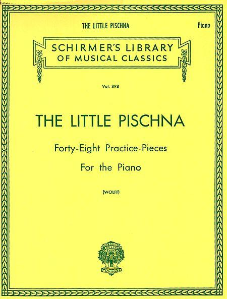 Pischna, Johann - The Little Pischna ed. Bernhard Wolff - Forty-Eight (48) Preparatory Exercises (Practice Pieces) - Piano Method Volume*