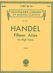 15 Arias High Voice (Wolff) Vocal Collection High Voice