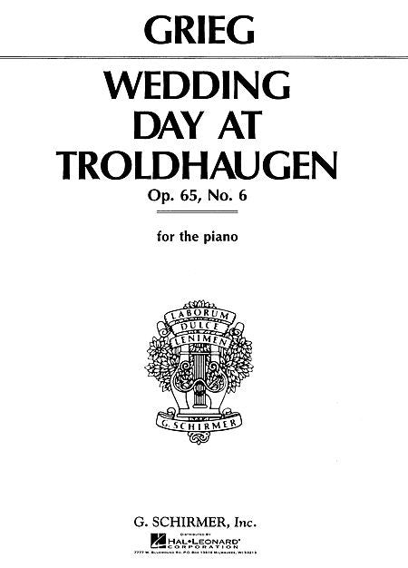 Greig - Wedding Day at Troldhaugen, Op. 65/6 Piano Solo (Oesterle)