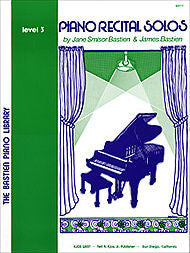 Piano Recital Solos, Level 3 - Jane Bastien
